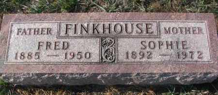 FINKHOUSE, FRED - Stanton County, Nebraska | FRED FINKHOUSE - Nebraska Gravestone Photos