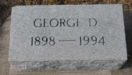 FOOTE, GEORGE D. - Stanton County, Nebraska | GEORGE D. FOOTE - Nebraska Gravestone Photos