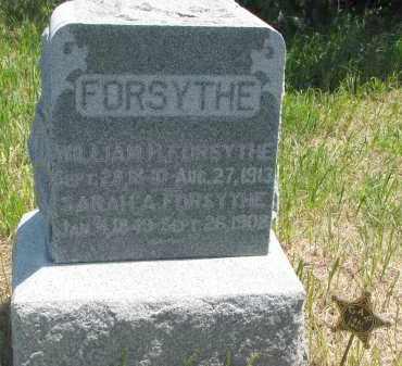 FORSYTHE, SARAH A. - Stanton County, Nebraska | SARAH A. FORSYTHE - Nebraska Gravestone Photos