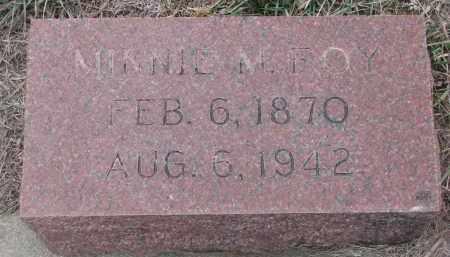 FOY, MINNIE M. - Stanton County, Nebraska | MINNIE M. FOY - Nebraska Gravestone Photos