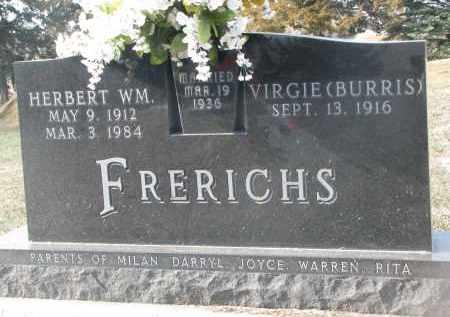 FRERICHS, HERBERT WM. - Stanton County, Nebraska | HERBERT WM. FRERICHS - Nebraska Gravestone Photos