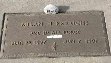 FRERICHS, MILAN H. (MILITARY) - Stanton County, Nebraska | MILAN H. (MILITARY) FRERICHS - Nebraska Gravestone Photos