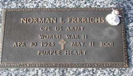FRERICHS, NORMAN L. - Stanton County, Nebraska   NORMAN L. FRERICHS - Nebraska Gravestone Photos