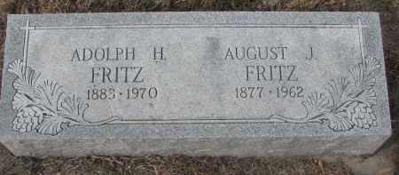 FRITZ, ADOLPH H. - Stanton County, Nebraska | ADOLPH H. FRITZ - Nebraska Gravestone Photos