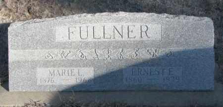 FULLNER, ERNEST E. - Stanton County, Nebraska | ERNEST E. FULLNER - Nebraska Gravestone Photos