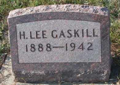 GASKILL, H. LEE - Stanton County, Nebraska | H. LEE GASKILL - Nebraska Gravestone Photos