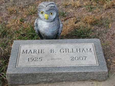 GILLHAM, MARIE B. - Stanton County, Nebraska | MARIE B. GILLHAM - Nebraska Gravestone Photos