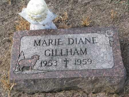 GILLHAM, MARIE DIANE - Stanton County, Nebraska   MARIE DIANE GILLHAM - Nebraska Gravestone Photos