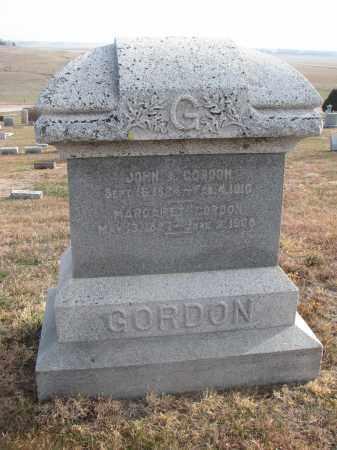 GORDON, JOHN - Stanton County, Nebraska | JOHN GORDON - Nebraska Gravestone Photos
