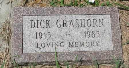 GRASHORN, DICK - Stanton County, Nebraska | DICK GRASHORN - Nebraska Gravestone Photos