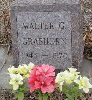 GRASHORN, WALTER G. - Stanton County, Nebraska | WALTER G. GRASHORN - Nebraska Gravestone Photos