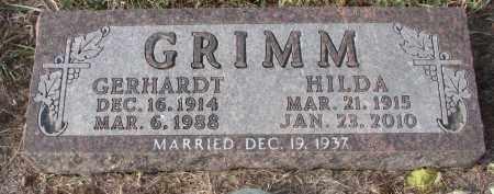 GRIMM, HILDA - Stanton County, Nebraska | HILDA GRIMM - Nebraska Gravestone Photos