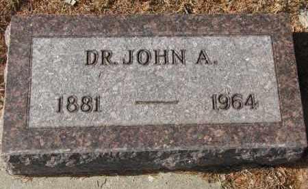 GUTTERY, JOHN A. (DR.) - Stanton County, Nebraska   JOHN A. (DR.) GUTTERY - Nebraska Gravestone Photos
