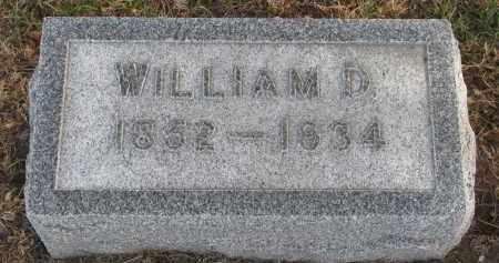 GUTTERY, WILLIAM D. - Stanton County, Nebraska   WILLIAM D. GUTTERY - Nebraska Gravestone Photos