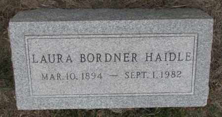 HAIDLE, LAURA - Stanton County, Nebraska | LAURA HAIDLE - Nebraska Gravestone Photos