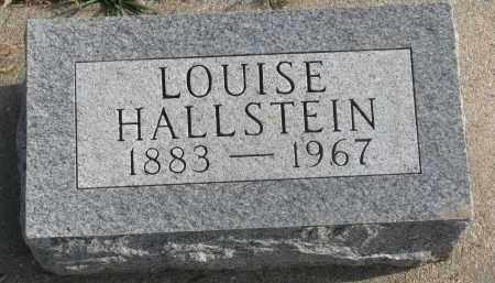 HALLSTEIN, LOUISE - Stanton County, Nebraska | LOUISE HALLSTEIN - Nebraska Gravestone Photos
