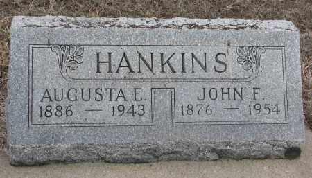 HANKINS, JOHN F. - Stanton County, Nebraska | JOHN F. HANKINS - Nebraska Gravestone Photos