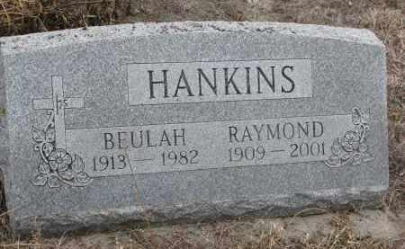 HANKINS, RAYMOND - Stanton County, Nebraska | RAYMOND HANKINS - Nebraska Gravestone Photos