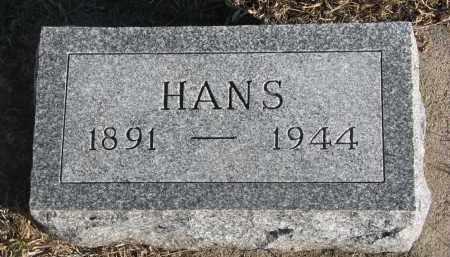 HANSEN, HANS - Stanton County, Nebraska | HANS HANSEN - Nebraska Gravestone Photos