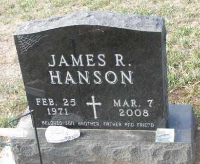 HANSON, JAMES R. - Stanton County, Nebraska | JAMES R. HANSON - Nebraska Gravestone Photos