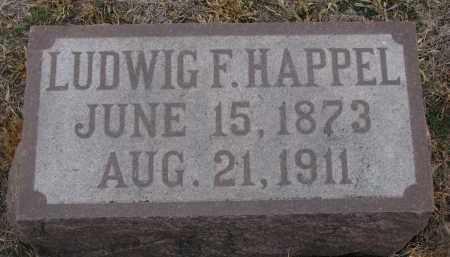 HAPPEL, LUDWIG F. - Stanton County, Nebraska   LUDWIG F. HAPPEL - Nebraska Gravestone Photos