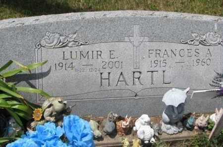 HARTL, FRANCES A. - Stanton County, Nebraska | FRANCES A. HARTL - Nebraska Gravestone Photos