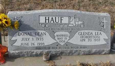 HAUF, GLENDA LEA - Stanton County, Nebraska | GLENDA LEA HAUF - Nebraska Gravestone Photos