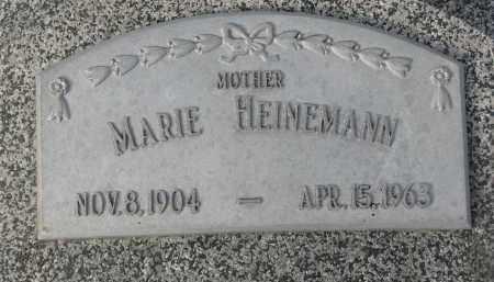 HEINEMANN, MARIE - Stanton County, Nebraska   MARIE HEINEMANN - Nebraska Gravestone Photos
