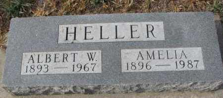 HELLER, AMELIA - Stanton County, Nebraska | AMELIA HELLER - Nebraska Gravestone Photos