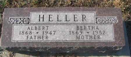 HELLER, ALBERT - Stanton County, Nebraska   ALBERT HELLER - Nebraska Gravestone Photos