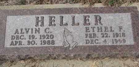 HELLER, ETHEL F. - Stanton County, Nebraska | ETHEL F. HELLER - Nebraska Gravestone Photos