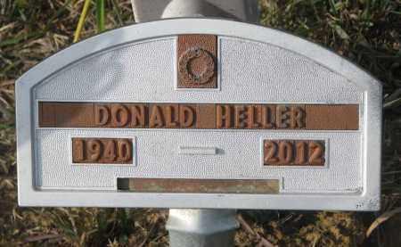 HELLER, DONALD - Stanton County, Nebraska | DONALD HELLER - Nebraska Gravestone Photos
