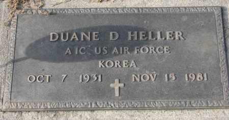 HELLER, DUANE D. - Stanton County, Nebraska | DUANE D. HELLER - Nebraska Gravestone Photos