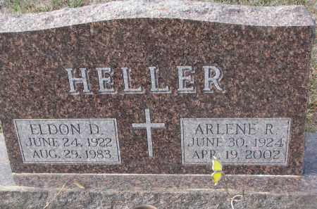 HELLER, ARLENE R. - Stanton County, Nebraska | ARLENE R. HELLER - Nebraska Gravestone Photos