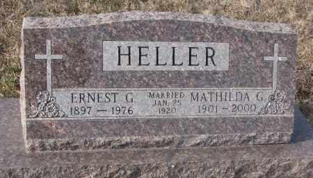 HELLER, ERNEST G. - Stanton County, Nebraska | ERNEST G. HELLER - Nebraska Gravestone Photos
