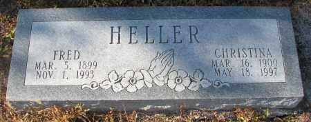 HELLER, FRED - Stanton County, Nebraska | FRED HELLER - Nebraska Gravestone Photos