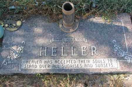 HELLER, GENE L. - Stanton County, Nebraska | GENE L. HELLER - Nebraska Gravestone Photos