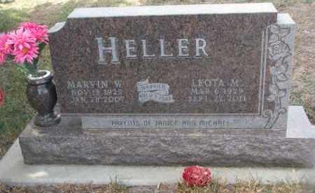 HELLER, LEOTA M. - Stanton County, Nebraska | LEOTA M. HELLER - Nebraska Gravestone Photos