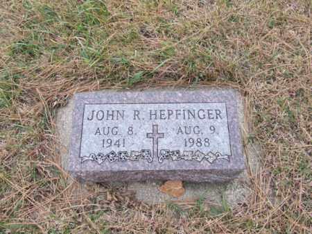 HEPFINGER, JOHN R - Stanton County, Nebraska | JOHN R HEPFINGER - Nebraska Gravestone Photos