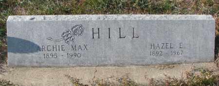 HILL, HAZEL E. - Stanton County, Nebraska | HAZEL E. HILL - Nebraska Gravestone Photos
