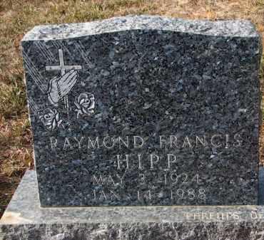 HIPP, RAYMOND (CLOSEUP) - Stanton County, Nebraska | RAYMOND (CLOSEUP) HIPP - Nebraska Gravestone Photos