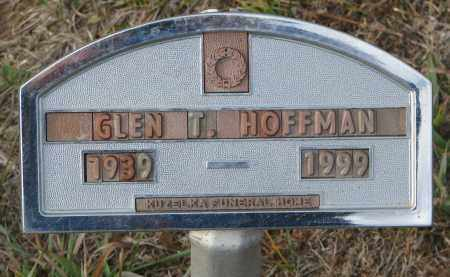 HOFFMAN, GLEN T. - Stanton County, Nebraska | GLEN T. HOFFMAN - Nebraska Gravestone Photos