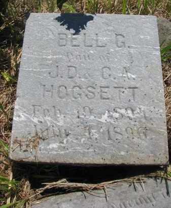 HOGSETT, BELL G. - Stanton County, Nebraska   BELL G. HOGSETT - Nebraska Gravestone Photos