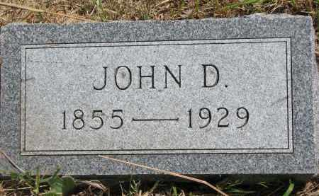 HOGSETT, JOHN D. - Stanton County, Nebraska | JOHN D. HOGSETT - Nebraska Gravestone Photos