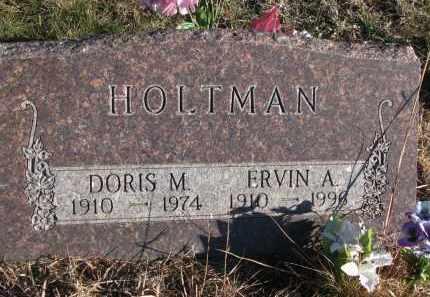 HOLTMAN, ERVIN A. - Stanton County, Nebraska | ERVIN A. HOLTMAN - Nebraska Gravestone Photos