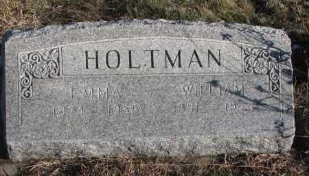 HOLTMAN, WILLIAM - Stanton County, Nebraska | WILLIAM HOLTMAN - Nebraska Gravestone Photos