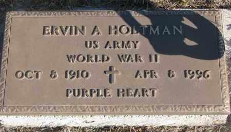 HOLTMAN, ERVIN A. (WW II) - Stanton County, Nebraska | ERVIN A. (WW II) HOLTMAN - Nebraska Gravestone Photos