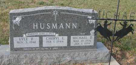 HUSMANN, LYLE D. - Stanton County, Nebraska | LYLE D. HUSMANN - Nebraska Gravestone Photos