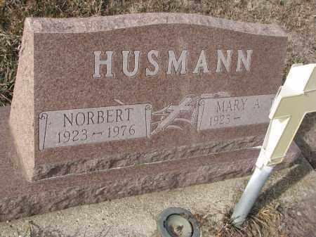 HUSMANN, NORBERT - Stanton County, Nebraska | NORBERT HUSMANN - Nebraska Gravestone Photos