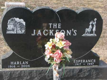 JACKSON, ESPERANCE - Stanton County, Nebraska | ESPERANCE JACKSON - Nebraska Gravestone Photos